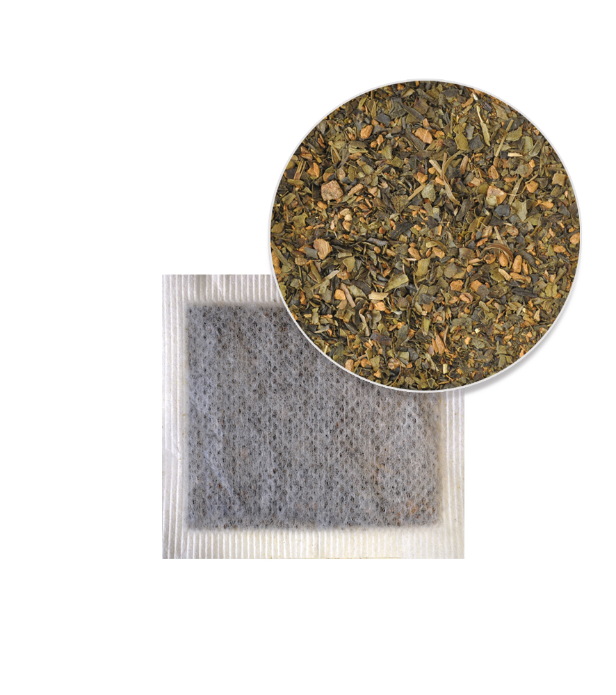 Green Tea Cinnamon Tea Bag