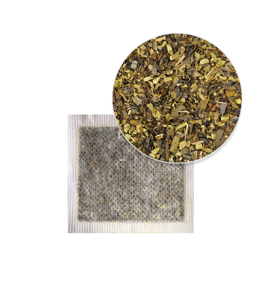 Green Tea Fennel Tea Bag