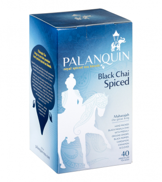 Black Chai Spiced Tea Box