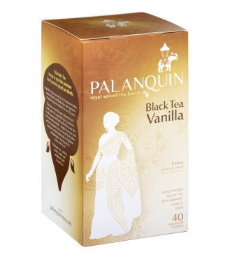 Black Tea Vanilla Tea Box