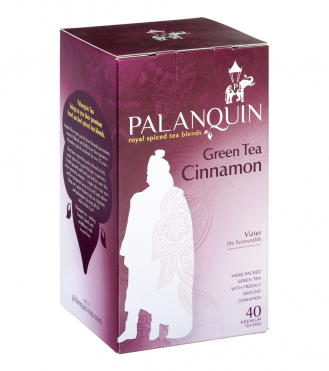 Green Tea Cinnamon Tea Box