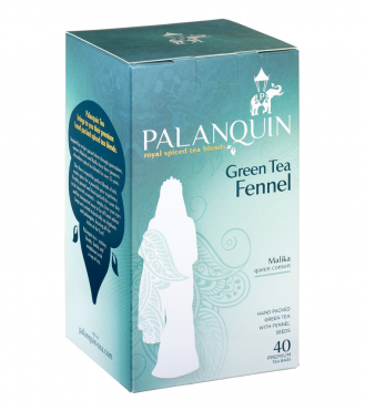 Green Tea Fennel Tea Box