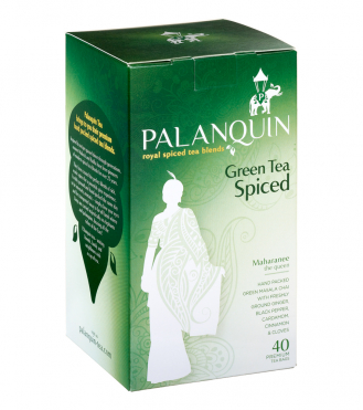 Green Tea Spiced Tea Box